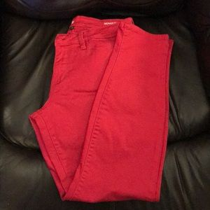 Pants - ❤️Be Valentine ready with these red skinny jeans